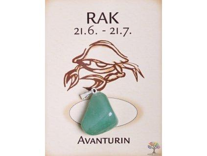 Kámen podle znamení - RAK
