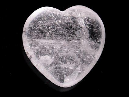 Srdce Křišťál 45x45 mm - Křišťálové srdce #250