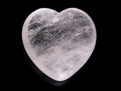 Srdce Křišťál 45x45 mm - Křišťálové srdce #251