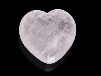 Srdce Křišťál 45x45 mm - Křišťálové srdce #252