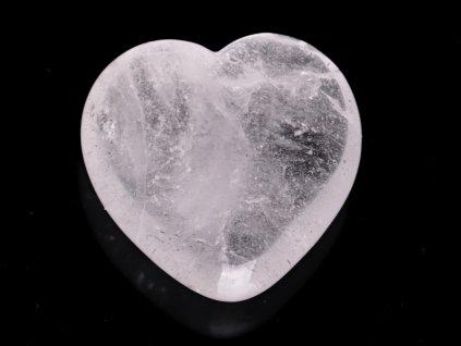Srdce Křišťál 45x45 mm - Křišťálové srdce #255