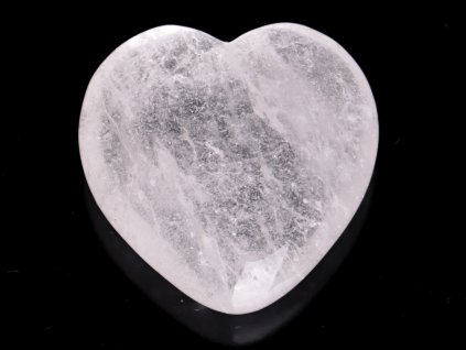 Srdce Křišťál 45x45 mm - Křišťálové srdce #257
