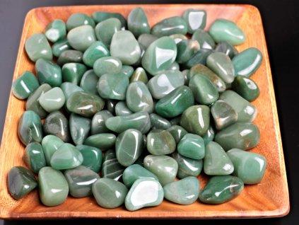 Tromlované kamínky Avanturin XL - kameny o velikosti 30 - 50 mm - 1kg - Brazílie