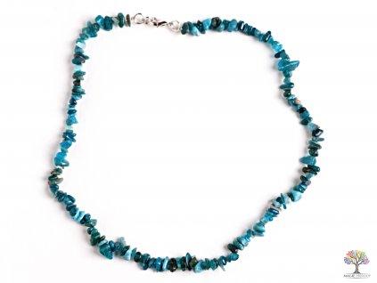 Náhrdelník Apatit tromlovaný #04 - z přírodních kamenů  + sleva 5% po registraci na většinu zboží + dárek k objednávce