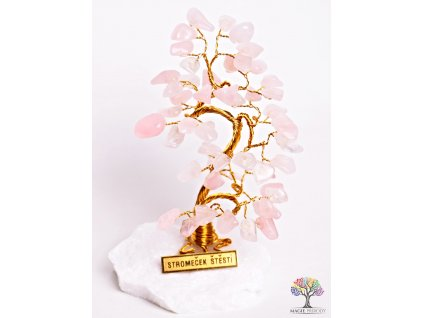 Růženínový stromeček štěstí 13 cm - B0 - #67  + až 10% sleva po registraci