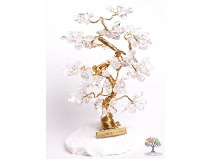 Křišťálový stromeček štěstí 18 cm - B2 - #74  + sleva 5% po registraci na většinu zboží + dárek k objednávce