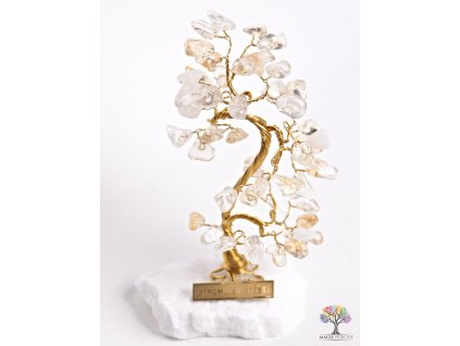 Citrínový stromeček štěstí 13 cm - B0 - #77  + až 10% sleva po registraci