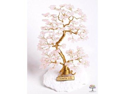 Růženínový stromeček štěstí 17 cm - A2 - #80