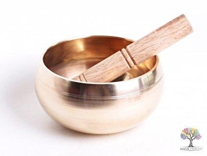 Tibetská miska - zpívající mísa 14 cm - 1100 g s paličkou #13