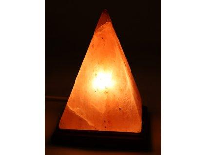 Solná lampa elektrická - Pyramida XXL 2-4 Kg