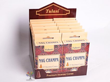 Vonné františky Tulasi Nag Champa 15 ks - #07