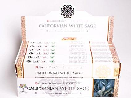 Vonné tyčinky Garden Fresh Premium Californian White Sage - 12 ks - #29