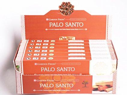 Vonné tyčinky Garden Fresh Premium Palo Santo - vůně posvátné dřevo - 12 ks - #35