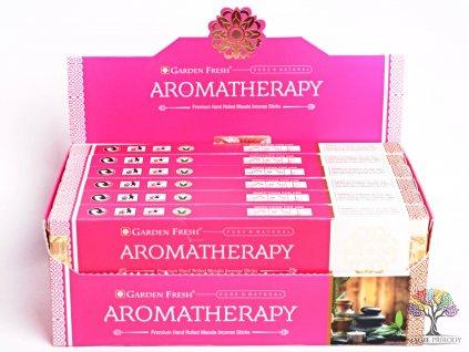Vonné tyčinky Garden Fresh Premium Aromatherapy - vůně květin - 12 ks - #36