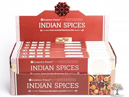 Vonné tyčinky Garden Fresh Premium Indian spices - vůně anýzu - 12 ks - #37