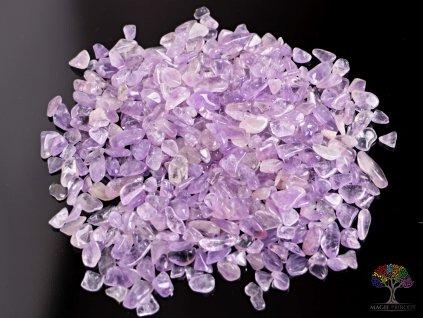 Tromlované kamínky Ametrín S - kameny o velikosti 15 - 25 mm - 1kg - Bolívie