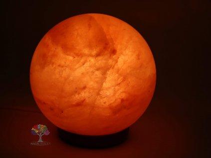 Solná lampa elektrická koule - planeta 10 - 12 kg