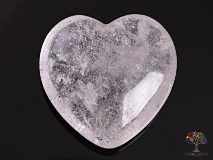 Srdce Křišťál 40x40 mm - Křišťálové srdce #08