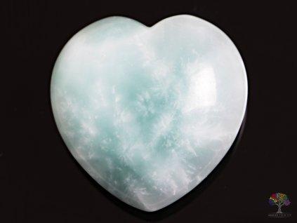 Srdce Amazonit 40x40 mm - Amazonitové srdce #03