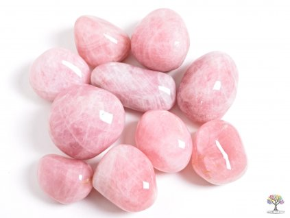 Tromlované kamínky Růženín JUMBO XL - kameny o velikosti 70 - 110 mm - 500g - Madagaskar  + sleva 5% po registraci na většinu zboží + dárek k objednávce