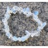 Náramek sekaný - Opalit - měsíční kámen - tromlovaný - 43  + sleva 5% po registraci na většinu zboží + dárek k objednávce