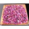 Tromlované kamínky Achát růžový - S/M - kameny o velikosti 15 - 30 mm - 1kg