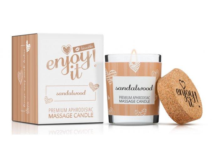 masážna sviečka santalové drevo