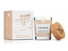 masážna sviečka kokos