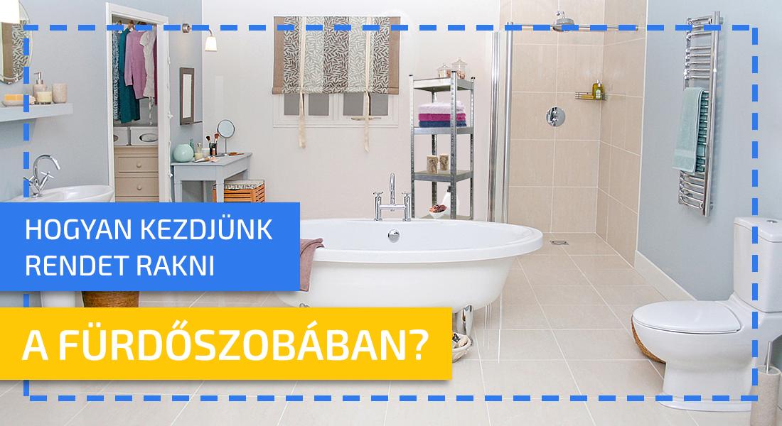 Hogyan oldjuk meg okosan a tárolóhelyeket a fürdőszobában?