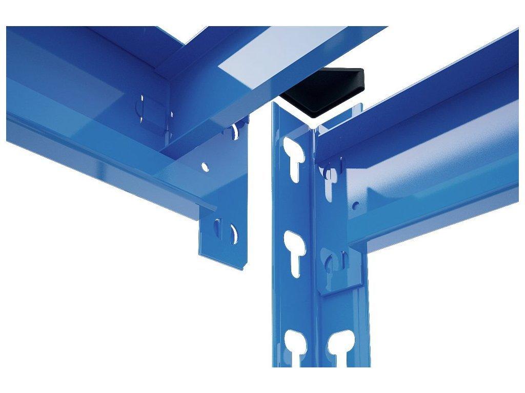 3782 3 akcios csomag 20 darab ipari profi salgo polc 1800x1800x500 mm lakkozott 4 polc teherbiras 1600 kg
