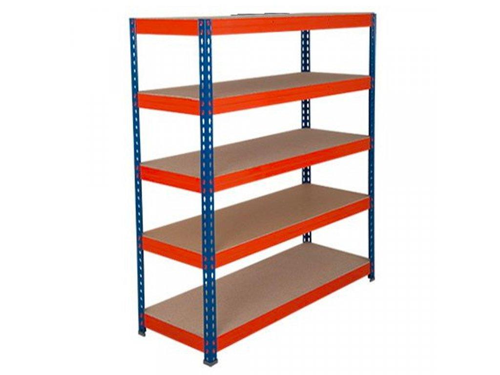 3797 3 akcios csomag 20 darab ipari profi salgo polc 2160x1400x600 mm lakkozott 5 polc teherbiras 2000 kg