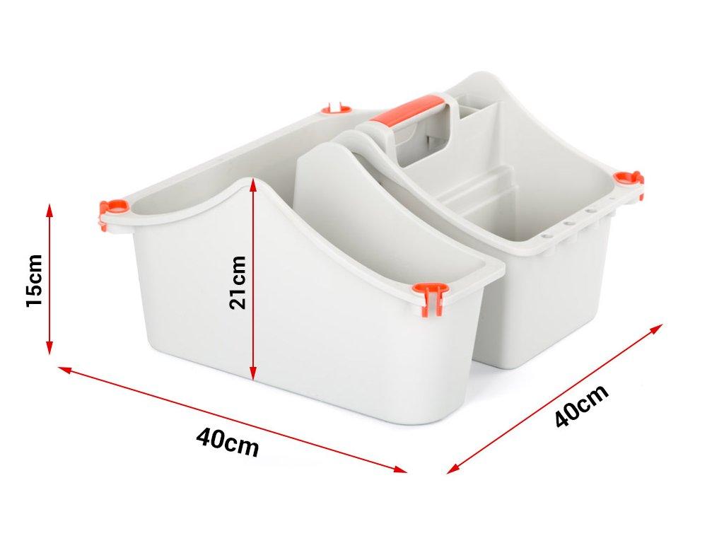 MultiBox - szerszámdoboz lépcsőtartóval