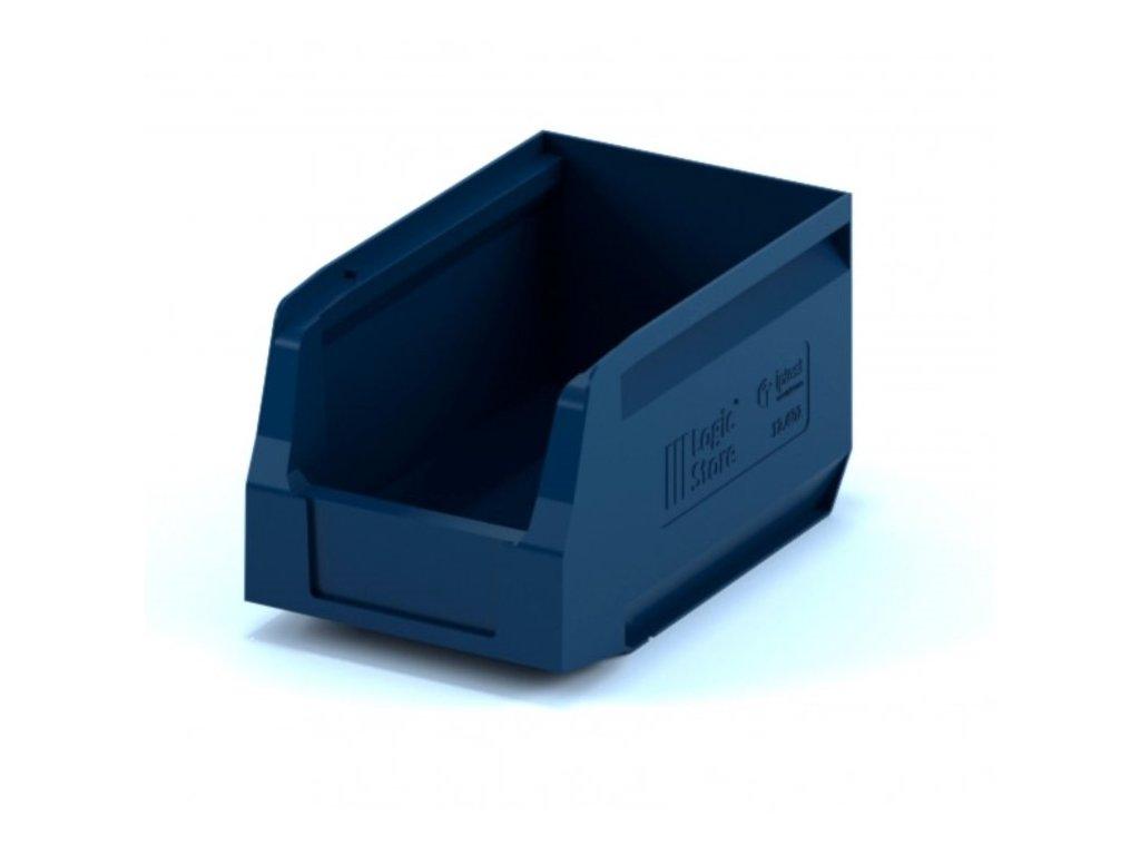 Műanyag tárolódoboz 25 x 15 x 13 cm