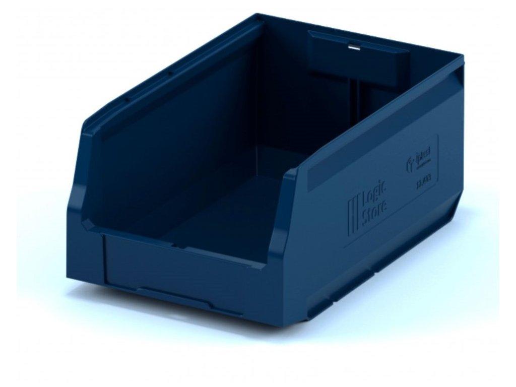 Műanyag tárolódoboz 35 x 22,5 x 20 cm
