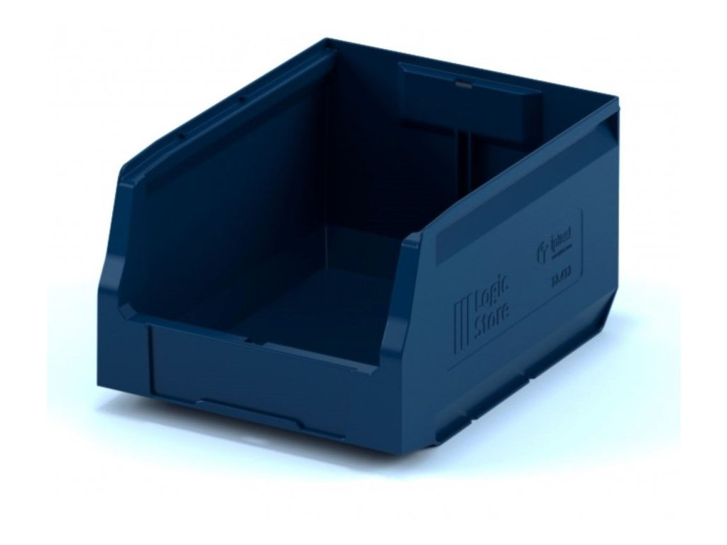 Műanyag tárolódoboz 30 x 22,5 x 15 cm