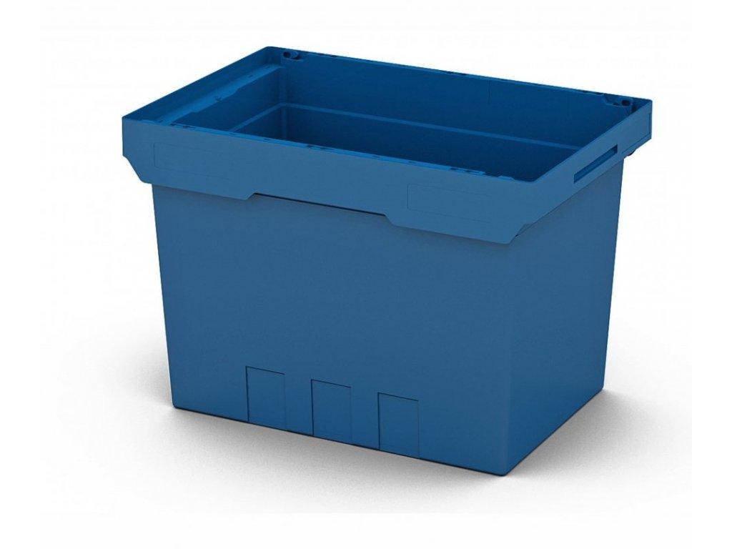 Műanyag szállítódoboz 60 x 40 x 42 cm