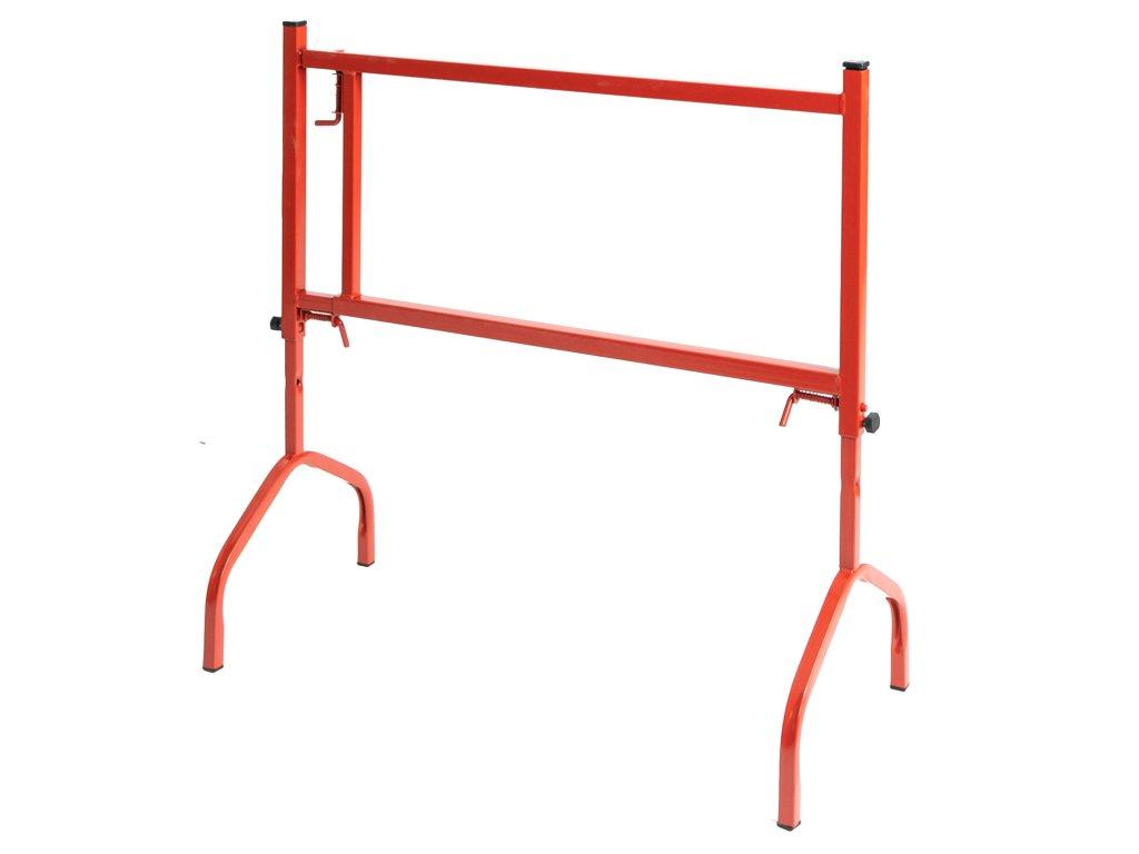 Építőipari stabil bak, 1 m magas, 175 kg teherbírás – PIROS