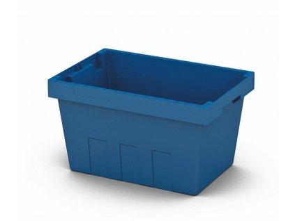 Műanyag szállítódoboz 49 x 33 x 28 cm