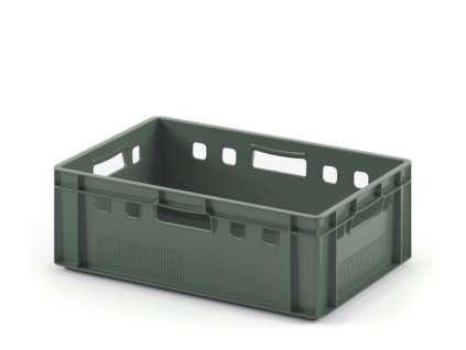 9988 2 prepravka na maso 60 x 40 x 20 cm zelena