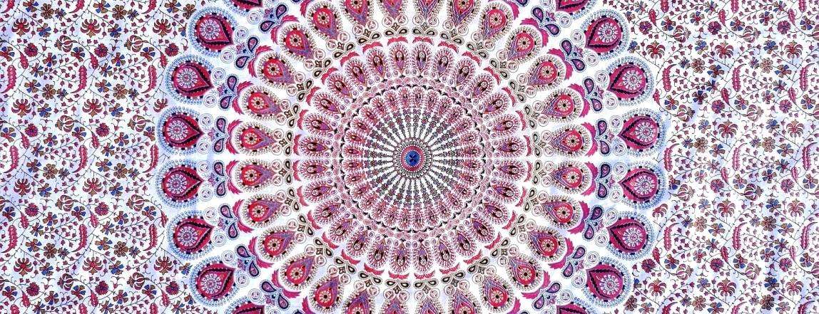 Mandala přehoz