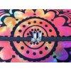 Mahari textilní mandala taška - indická cestovní kabela na jógu, multicolor, DOPRAVA ZDARMA