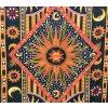 Mandala Mahari textilní dekorace na zeď - indický přehoz přes postel, jóga podložka, tapisérie, bavlna, vesmír, doprava zdarma