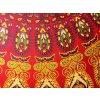 Mahari - Textilní taška s mandalou - indická taška, plážová taška, velká kabelka, DOPRAVA ZDARMA