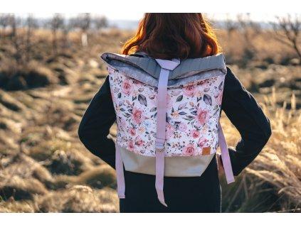 Velký designový batoh - LETNÍ ROMANCE