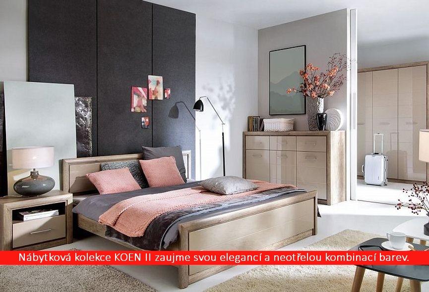 Systémová ložnice KOEN II