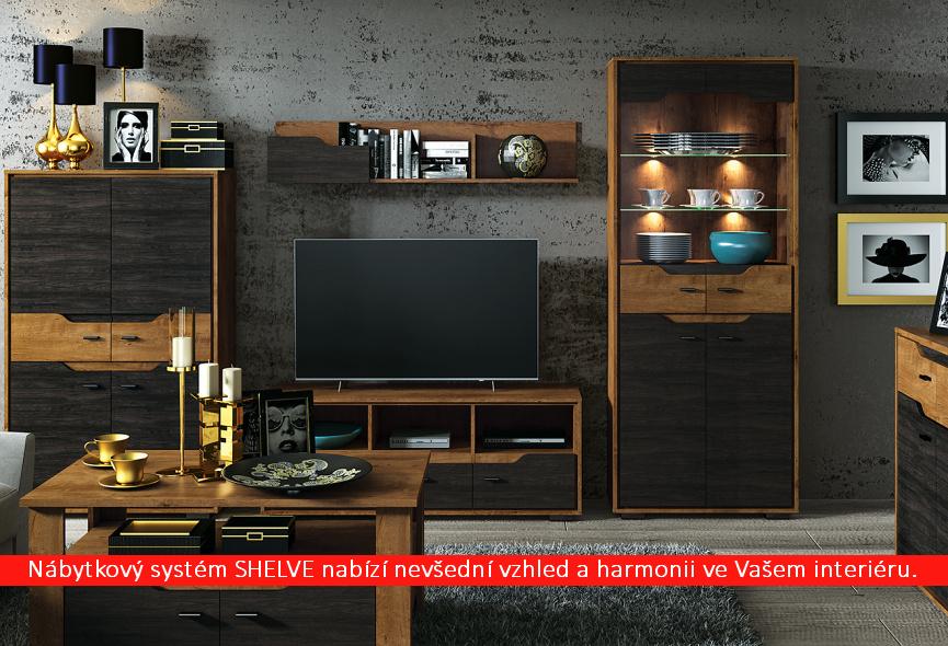 Obývací systém Shelve