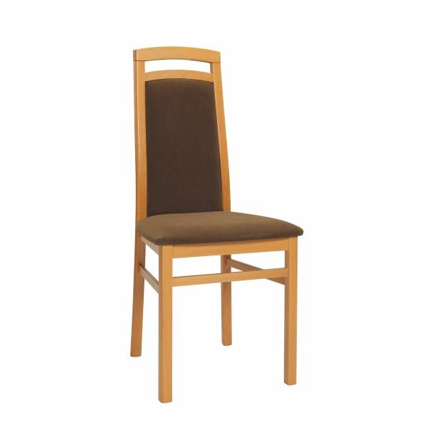 Čalouněné/dřevěné jídelní židle