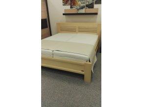 Masivní dřevěná postel VERDON-BP/A28