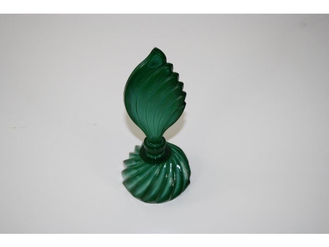 Flakon malachitové sklo (JADE)