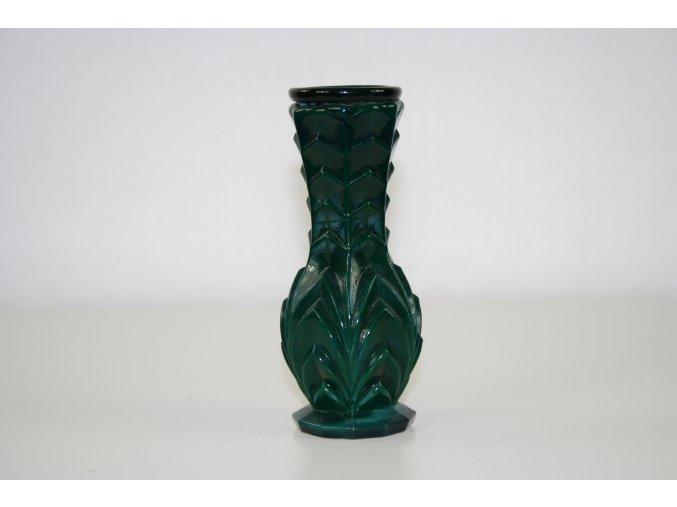 Váza malachitové sklo (JADE)
